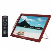 Trexonic Portable Rechargeable 14 Inch Led Tv With Hdmi Sd/mmc Usb Vga Av In