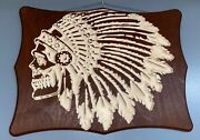 Native American Wood Carving. Cnc Made
