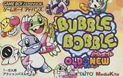 Gba Software Bubble Bobble Old Nu