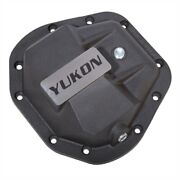 Yukon Gear Yhcc-d60 Hardcore Differential Cover Fits Dana 50 60 And 70 Black Fin