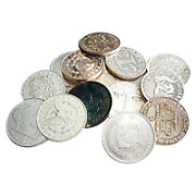 Lot Of 100 X 1 Oz Assorted Silver Round