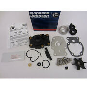 Johnson/evinrude/omc New Oem Kit Aywater Pump And Impeller 0437907 437907