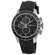 New Tissot V8 Automatic Black Chronograph Dial Menand039s Watch T106.427.16.051.00