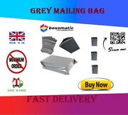 Strong Grey Plastic Mailing Post Poly Postage Bags With Peel Self Seal