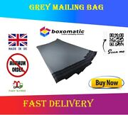 Grey Mailing 10 X 14 Bags Strong Parcel Postage Plastic Post Poly Self Sea