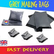 200500100020005000 Grey Mailing Bags Strong Parcel Postage Plastic Post Poly
