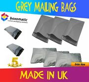 Strong Grey Postage Mailing Plastic Self Seal Polythene Bags