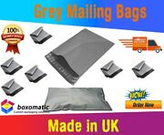 Strong Grey Plastic Mailing Bags Poly Postal Postage Post Self Seal