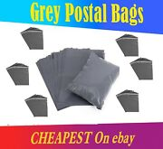 Grey Mailing Bags Strong Poly Postal Self Seal Lowest Price On Ebay