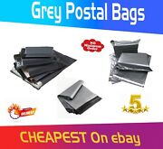 Strong Grey Mailing Post Bags Postage Poly Mail Self Seal