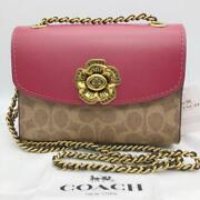 Coach Sold Out Parka Tea Rose Pink It Is List Of Only One Point F/s Fedex