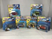 Thomas And Friends Take-n-play Fisher Price Diecast Train Lot Of 6 Free Shipping
