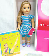 New American Girl Of Year Doll Mckenna In Meet Outfit 2 Books Accessories Box +