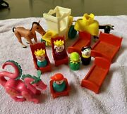 Fisher Price Little People Castle Figures