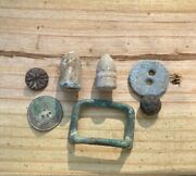 Dug Confederate Cavalry Camp Button Buckle Bullet Relics Chesterfield Virginia