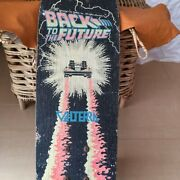 Back To The Future Vintage Skateboard Complete Deck Very Rare