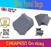 Postal Mailing Bags Postage Self Seal Poly Strong Grey