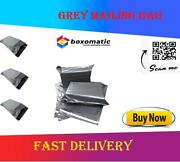 Grey Mailing Bags Strong Postal Poly Postage Self Seal