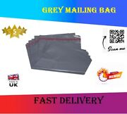 Grey Mailing Bags Strong Poly Postal Postage Post Mail Self Seal