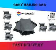 Postal Mailing Bags Postage Self Seal Poly Strong Grey Plastic