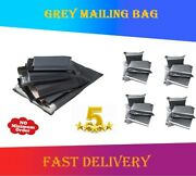 Grey Postage Strong Mailing Post Postal Plastic Poly Bags Self Seal