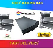 Strong Grey Plastic Postal Postage Mailing Bags Envelopes Peel And Seal