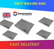 Strong Postal Post Bags Packaging Mailing Grey Poly Self Seal Parcel Plastic Bag