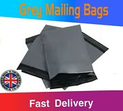 Strong Postal Post Bags Packaging Mailing Grey Poly Self Seal