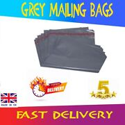 25 Strong Grey Poly Postal Mailing Postage Parcel Letter Self Seal Bags 10 X 14
