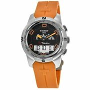 New Tissot T-touch Ii Jungfraubahn Edition Menand039s Watch T047.420.47.051.11