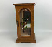 Vintage The Commodore Collection Wooden Jewelry Box By Rosalco Floral