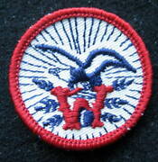 Wiedeman Beer Ale Lager Eagle Embroidered Patch Company Collectible 1 3/4