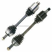 For Honda Prelude 1997 1998 1999 2000 2001 Pair Front Cv Axle Shaft Dac