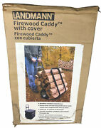 Landmann Firewood Caddy With Cover Brand New In Box