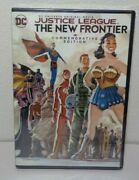 Justice League The New Frontier New Dvd Commemorative Edition Dc Universe