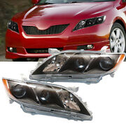 Pair For Toyota Camry 2007 2008 2009 Headlights Headlamps Replacement Left+right