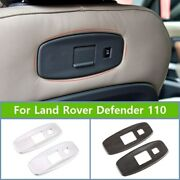 Abs Car Seat Usb Charging Port Cover Trim For Land Rover Defender 110 2020-2022