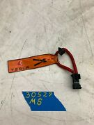 17 Tesla Model S Emergency Responder Power Disconnect Cable Harness 101558500a