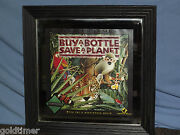 Vintage Marcus James Buy A Bottle Save A Planet Wine Tiger Wall Mirror Sign