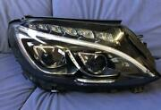 Mercedes Benz C-class W205 Led Afs Right Side A 205 906 90 01-a2059069001 Used