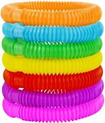 12pcs Pop Tube Sensory Fidget Toys Kids Adults Stress Relief And Anti Anxiety Toy