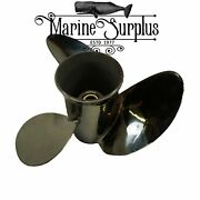 Stainless Propeller 13.6 13-5/8 X 21 Rh - Replacement For Mercury Enertia 48-8