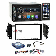 Soundstream Dvd Bt Usb Stereo Dash Kit Amp Onstar Harness For Gm Cadillac Chevy