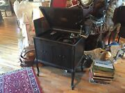 1925 Rca Victrola Wood Record Player Ltd Ve-210 Edition 1 Of 199 S/n 695