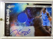 Kevin Durant 2010 Absolute Star Gazing Jersey Patch On Card Auto Sp 05/25 2