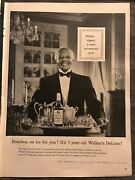 Walkers Deluxe Bourbonbourbon On Ice For You1955 Vintage Print Ad B12