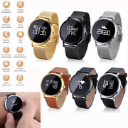 Men Women Bluetooth Smart Watch Heart Rate For Samsung S20 S10 S9 Plus Note 10 9