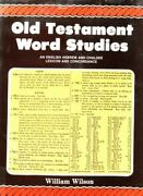 Old Testament Word Studies An English Hebrew And Chaldee Lexicon And Concor...