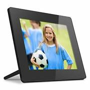 Aluratek 8 Inch Touchscreen Wifi Digital Photo Frame 16gb Memory With Built-in C