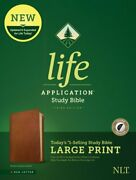 Nlt Life Application Study Bible, Third Edition, Large Print Red Letter, Used